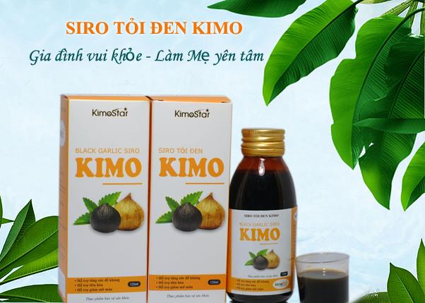 Siro tỏi đen Kimo có tốt không