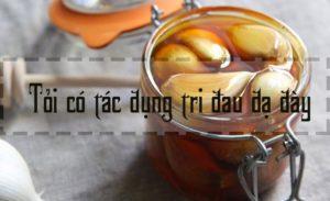 Đau dạ dày có được uống dầu tỏi không