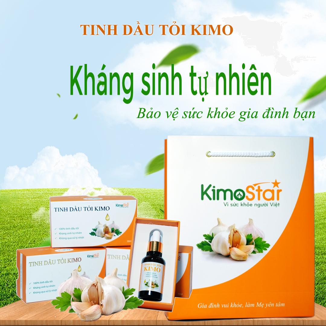 Tinh dầu tỏi Kimo có tốt không