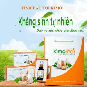 Tăng sức đề kháng bằng Tinh dầu tỏi kimo